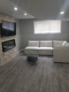 STUNNING new built 5 bed. and each has their own TV